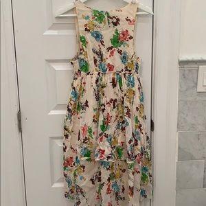 ABS Allen Schwartz Dresses - ABS Allen Schwartz floral voile v neck dress